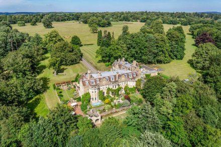 flat-1-busbridge-hall-home-farm-road-drone