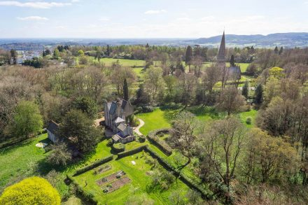 the-old-rectory-ranmore-common-drone