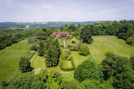woolpits-bletchingley-road-drone